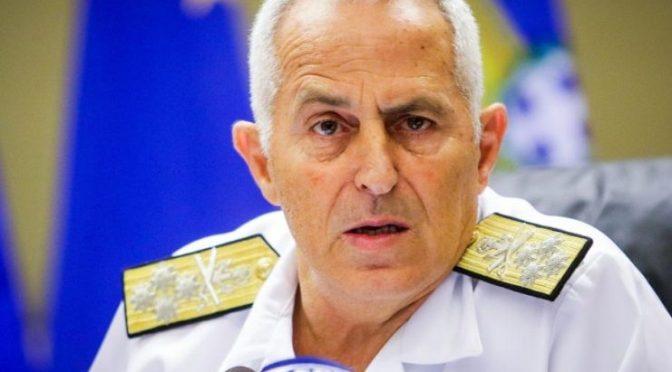 Σκληρό μήνυμα έστειλε, ο Αρχηγός ΓΕΕΘΑ, Ναύαρχος Ευάγγελος Αποστολάκης κατά την εορταστική συνάντησή του με τους διαπιστευμένους στρατιωτικούς συντάκτες του υπουργείου Εθνικής Άμυνας.