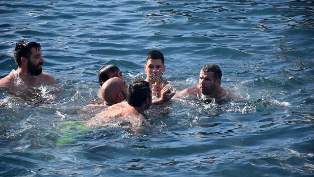 Υπέρλαμπρος ο εορτασμός των Θεοφανείων στη Σύρο